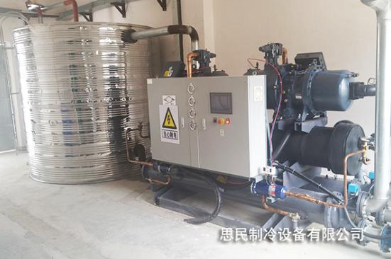 制冷设备-生产冷却机组实拍